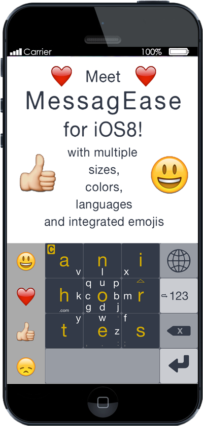 If you would like to play with our MessagEase for iOS beta, send us an email. There are still a few spots left. http://t.co/qqCI9PS7gR