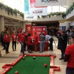 The #Winnipeg @FIFAWWC organizing committee has some fun games set up for onlookers. #100daycountdown http://t.co/dx7aCLBHdc