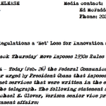 Verizon issues Feb. 26, 1934 press release w/ typewriter font to assail #NetNeutrality vote. http://t.co/qhIXa3hlNu http://t.co/s5RgAFyuDd
