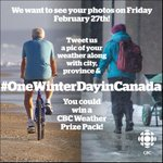 What does #winter look like where YOU live? Tweet us a pic on Fri w/ #OneWinterDayInCanada and tag @CBCManitoba http://t.co/F5JKzsVwPy