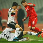 HALF-TIME: Weve reached the break at the Ataturk Stadium and the second leg is goalless. Besiktas 0-0 #LFC [0-1 agg] http://t.co/ygQb64yOvX