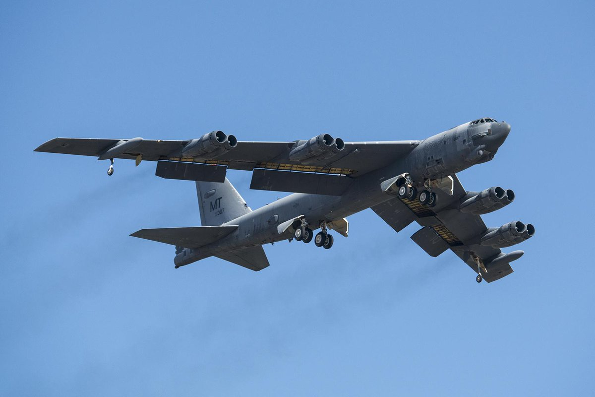 B-52 flyover to mark 50th anniversary of first Air Force POW during Vietnam http://t.co/xVo5rlrQFg http://t.co/rUmuT71zFS