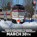 .@MBTA_CR issues apology, but says full service wont be back until March 30. http://t.co/mniCqOjfIU http://t.co/jwQsdt3FIh
