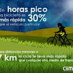 #FMB4 El ahorro de tiempo, una buena razón para utilizar la bicicleta como medio de transporte. http://t.co/n7e6e6moGR