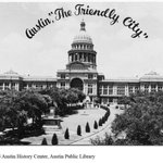 "#tbt Prior to being ""weird"", Austin was ""The Friendly City"". Postcard of the Capital, 1949 http://t.co/RvtBXFI5BV"