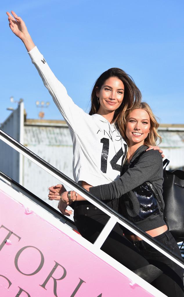Lily Aldridge reacts to Karlie Kloss leaving Victoria's Secret!
