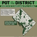 LEGAL MARIJUANA IN DC- over 20% of DC is Federal Land where #marijana is still illegal @wusa9 http://t.co/pwYIcPq6bV http://t.co/AU8Pe0oH61