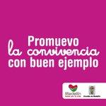 En @AlcaldiadeMed promovemos la Convivencia con buen ejemplo. #UnidaddeConvivencia #TodosporlaVida http://t.co/Ml8IEbrgPQ