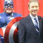 Just arrived at CPAC and already met Captain America! Looking forward to speaking tomorrow at 10:20am. http://t.co/I8UicoDcWE