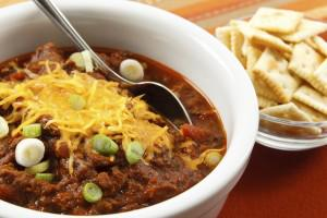 A1: Yee-Haw for Authentic Cowboy Beanless Beef Chili! #Cheers2Chili http://t.co/IQeHCEDpQI http://t.co/COtP94rKEt