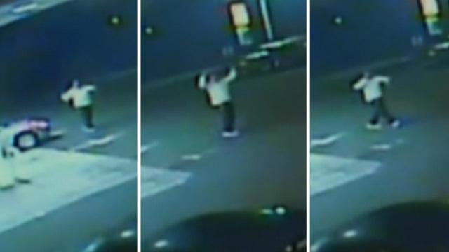 WATCH: Aaron Hernandez had a gas station dance party hours before Odin Lloyd's murder...