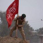 """""""وصول النائب هادي العامري الى مشارف تكريت . وهو على اهبت الاستعداد لمحاربة تنظيم داعش #الدولة_الإسلامية http://t.co/ms8inwHL0d"""
