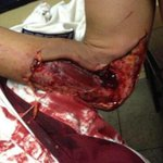 #26F Venezuelan students are being massacred in Táchira by Maduros regime armed forces @MariaConchita_A @willycochez http://t.co/vwnKi8HsBW