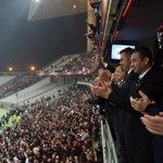 Bugün çok heyecanlı bir maç seyrettik. Beşiktaşı tebrik ediyor bundan sonraki maçlarda başarılar diliyorum. http://t.co/Tlpjdxz2RX