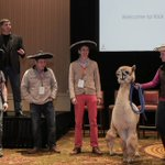 #TBT: we had #llamas at our Kickoff in 2014. What can we say? Were trendsetters. http://t.co/WxPv07qJcY