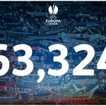 Beşiktaş & Liverpool fans played their part in a new record #UEL attendance tonight! http://t.co/fINh1BrZT1