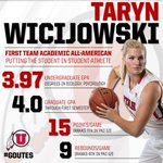 Proud to announce our newest 1st-team Academic #AllAmerican — @utahwbasketballs Taryn Wicijowski! #GoUtes! http://t.co/UZ2tmfgmvE