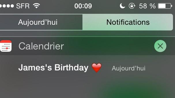 It\s now your Bday in France    . Happy birthday I love you so much babe