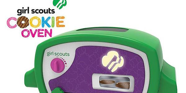 Best. News. Ever. A new Girl Scout Cookie Oven lets you bake up Thin Mints at home