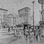 #Winnipeg in 1902: Main Street, by Charles W. Jefferys http://t.co/eg6Z6FrDJp