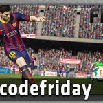 #freecodefriday is finally here with FIFA 15!  FOLLOW & RT by 11:30 AEST for a chance to win. http://t.co/Lztwf0lRBH