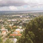 RT @93Cummins: Top of Mt Eden over looking Eden Park before the game vs NZ tomorrow.