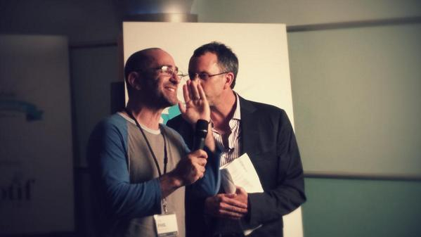 What's going on here @howardlindzon @ppearlman? #Stocktoberfest http://t.co/Ncrs8QUvvk