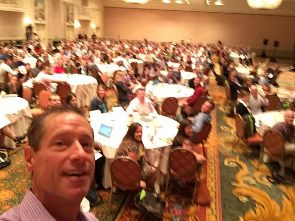 It's the enthusiastic #socialmediaorg family reunion in #real-time http://t.co/Xeo8yfGudz