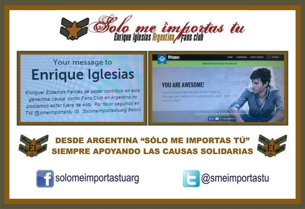 Celeste M (@CelesteMatuz): https://t.co/5o4NJIKPnW @enrique305  Si nos das RT y Follow nos alegras la vida!!! @smeimportastu