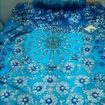 Este es el manto que lucirá en pocos momentos nuestra virgen de Chiquinquirá @jrivero29 @jocontre http://t.co/ws9gbGPeEf