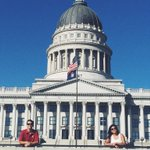 check out our President and Vice President reppin the Trojans at the Utah State Capitol #uscgameday http://t.co/tY3rLyDSS7
