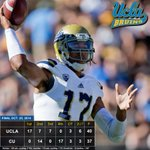 .@UCLAFootball improves to 6-2 after a 40-37 2OT win at Colorado. Brett Hundley rushes for winning TD #bruinboxscore http://t.co/pKI9QP7eZG