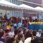 Lugar donde se posara la Chinita luego de su bajada. #BajadaDeLaChinita2014 @EsMaracaibo @BasilicaChinita http://t.co/PTIOlt4TgY