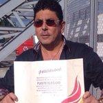 Orgulloso @fidelkugra al ser elegido como portador de la antorcha de los @JVeracruz2014 http://t.co/ZKaP0eUlrg