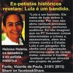 """RT @AraoAmazonas: Ex-petistas revelam quem é LULA ( o chefe de Dilma) de verdade http://t.co/vd6UNpAf1L #AgoraÉAecio45Confirma"""""""