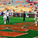 RT @EmJDNews: @CuseFootball QB AJ Long warming up in Death Valley. @ClemsonFB @NewhouseSports http://t.co/VIQubJsTgc