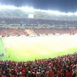 RT @goleada_info: Grande público na Arena da Amazônia, em Manaus. Daqui a pouco tem Botafogo x Flamengo. (Foto: @cahemota) http://t.co/1FhiQ7Jlth