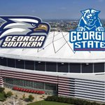 Georgia Southern moves to 5-0 in the Sun Belt with a win over Georgia State 69-31. The Eagles rushed for 613 yards. http://t.co/E0LqABnCzD