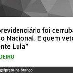 RT @joaopaulom: #DebateNaGlobo: Aécio desmascara o discurso falso de Dilma e mostra q foi o PT q vetou o fim do Fator Previdenciário http://t.co/fdEgI63CyU