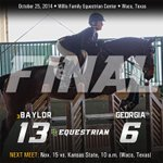 Baylor Knocks Off No. 1 Georgia, 13-6 #SicEm http://t.co/2fcVrOVqRv