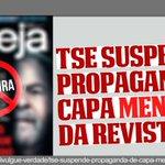 Twitter / @GringaBrazilien: TSE Suspende Capa Mentiros ...