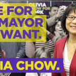 RT @oliviachow: This Monday, vote for the mayor you want. #Olivia4Mayor #TOpoli http://t.co/5pk8xc2eTR