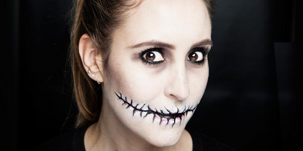 super scary halloween makeup that s blimmin easy to do here s how