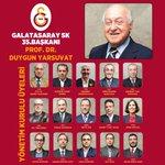RT @GalatasaraySK: Galatasaray Spor Kulübü 35. Başkanı Prof. Dr. Duygun Yarsuvat ve Yönetim Kurulu http://t.co/ipsuUFx3dZ