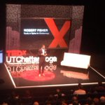 RT @iWroteTheHustle: My boy, Fish aka @robert_fisher1 on stage kickin facts! Honored to share the #TEDxUTChatt stage with him http://t.co/QKJT0peB1a