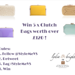 Win 5 x clutch bags! See image for rules! Winner named after #xfactor tomorrow! Follow RT to win. #StyleMeVS http://t.co/KVbkxp0iCB