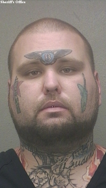 florida man with bentley logo face tattoo gets 15 months