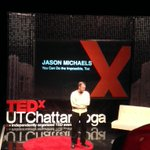 Jason Michaels about to teach us how the impossible is only a concept in our own mind! #TEDxUTChatt http://t.co/uJKwEqoShg