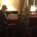 RT @WortleyMensClub: VicePresident presenting cheque to Eva @YorkshireAirAmb £2790.46 Thanks everyone #Barnsleyisbrill #sheffieldissuper http://t.co/ZCcyzwrXvn