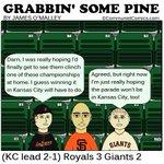 Grabbin Some Pine - World Series Game 3 - October 24, 2014. #GrabbinSomePine #SFGiants http://t.co/D5h6TRl5DA